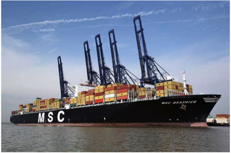 Official GOR Partnership agreed with shipping company MSC USA