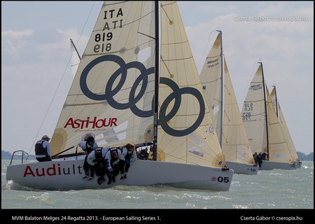 2013 MVM Balaton Melges24 winner Simoneschi-team 2