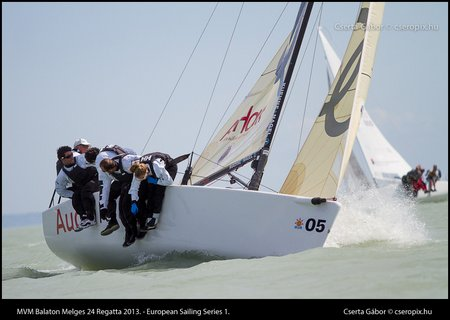 2013 MVM Balaton Melges24 winner Simoneschi-teams
