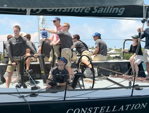 2014 Royal Bermuda YC Anniversary Regatta: His Excellency the Governor of Bermuda Mr. George Fergusson sailed in the spectacular racing in the 2014 Royal Bermuda Yacht Club Anniversary Regatta, the final stage of the Onion Patch Series and the new Navigat