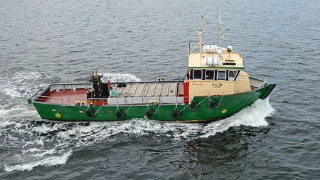 Small supply vessel VILJA for sale  | Broadly Boats News