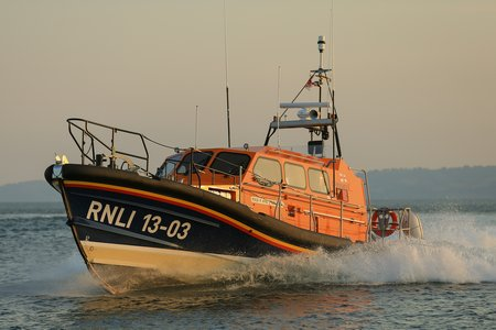 PR040215 Shannon class lifeboat R and J Welburn