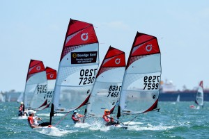 Invited - BIC / Fleet racing ISAF Sailing World Cup - Melbourne St Kilda sailing precinct, Victoria Port Phillip Bay Thursday 10 Dec 2015 © Sport the library / Jeff Crow